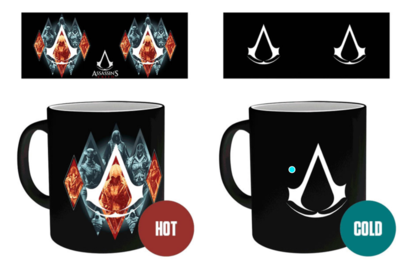 Assasins Creed Heat Change Mug
