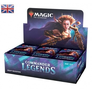 Magic the Gathering Commander Legends Draft Booster BOX EN