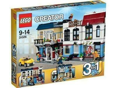 Lego Creator - Stadt-Café und Fahrradladen