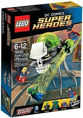 DC Comics Super Hereos Brainiac Attack