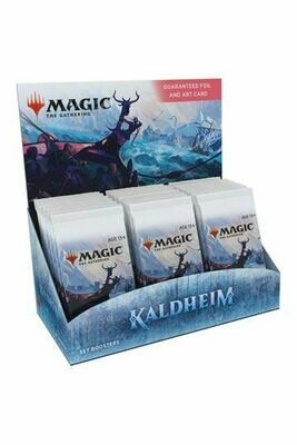 MTG Kaldheim Set Booster Display BOX EN