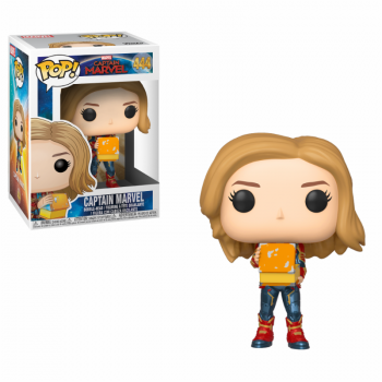 Captain Marvel with Lunch Box  (Glow in the Dark)