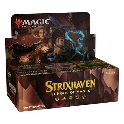 MTG Strixhaven: School of Mages Draft Booster Display EN