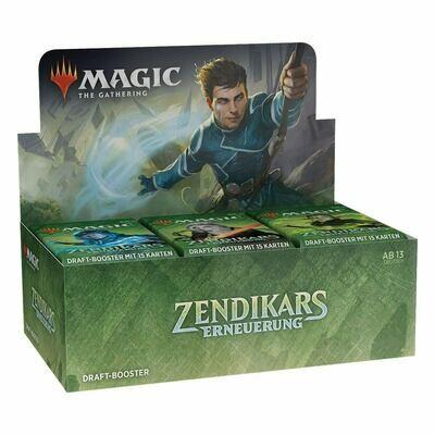 Magic the Gathering Zendikar Rising Draft Booster DE