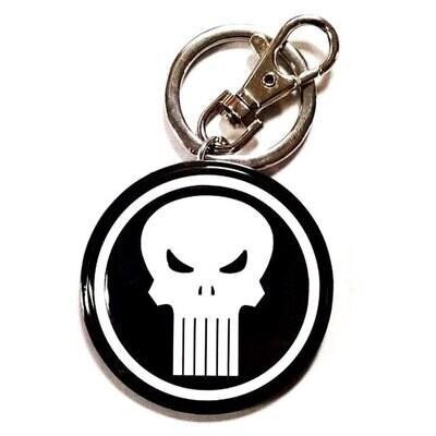 Marvel Punisher Logo Keychain