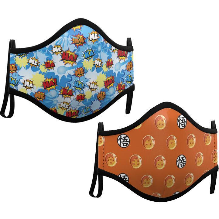 Maske DragonBall 2er Pack