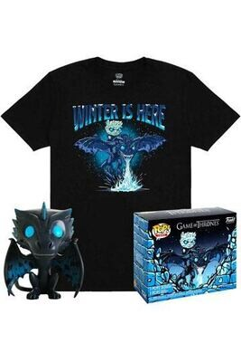 Game of Thrones POP! & T-Shirt Set Icy Viserion
