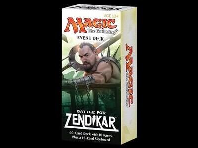 MTG Battle for Zendikar Event Deck EN