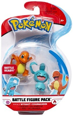 Pokemon Battle Figuren Isso + Glumanda