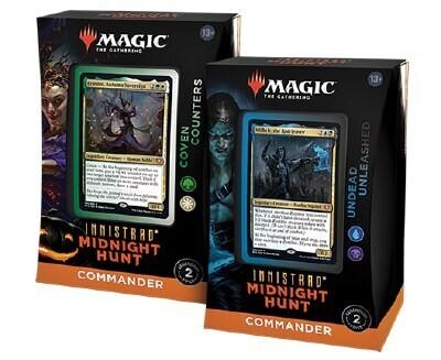 Magic the Gathering Innistrad: Mitternachtsjagd Commander-Deck Display DE