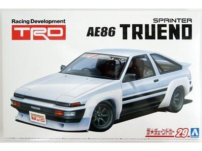 TRD AE86 Sprinter Trueno N2 1985 1/24 KIT