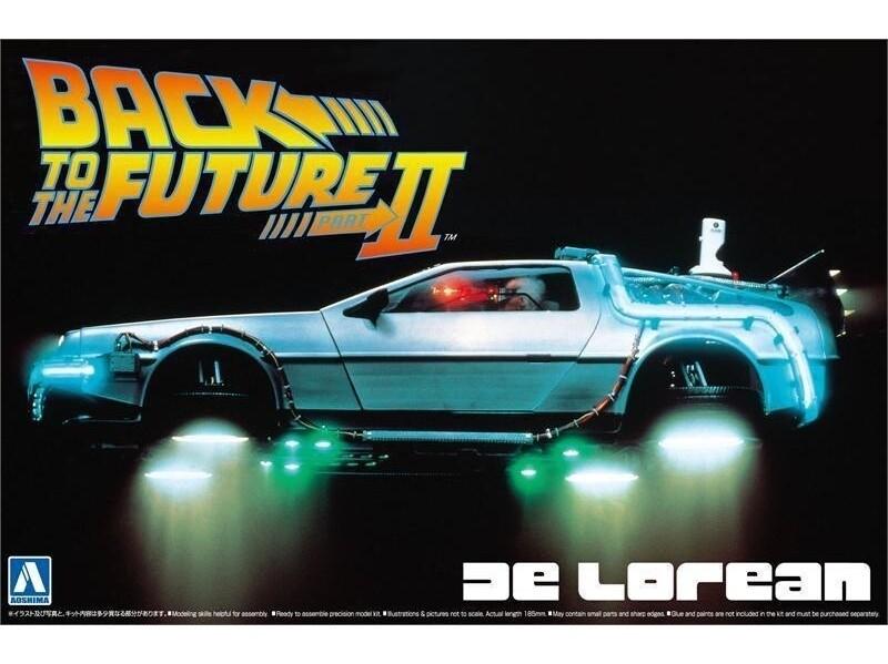 Back To The Future II DeLorean 1/24 KIT