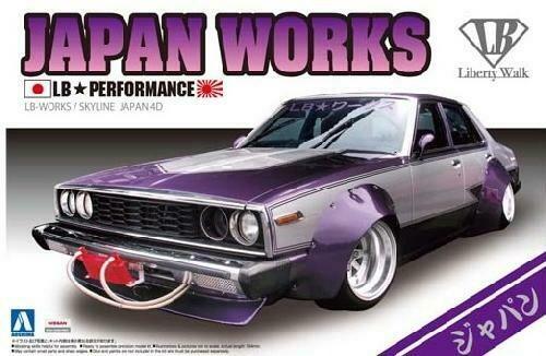 Nissan Skyline LB WORKS JAPAN 4DR 1/24 KIT