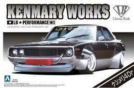 Nissan Skyline #03 LB WORKS KEN MARY 4DR  1/24 KIT