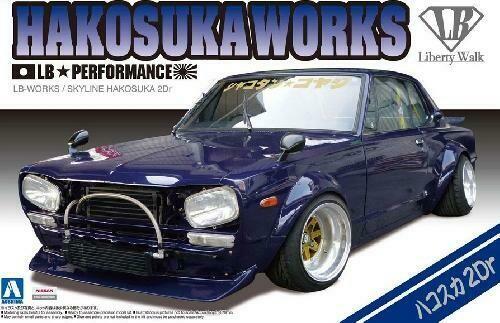 Nissan Skyline #04 LB WORKS HAKOSUKA 1/24 KIT