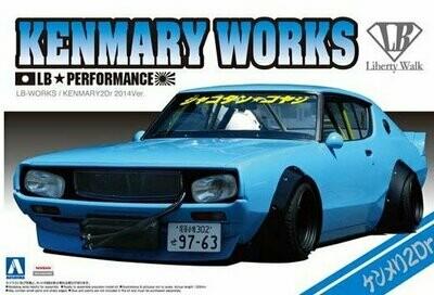 Nissan Skyline  #06 LB WORKS KENMARY  1/24 KIT