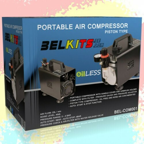 Portable Air Compressor for Airbrush Belkits