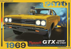 1969 Plymouth GTX Hardtop Pro Street 2T 1/25 KIT