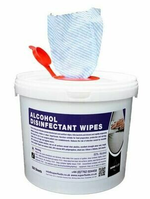 Alcohol Sanitising Wipes – Bucket