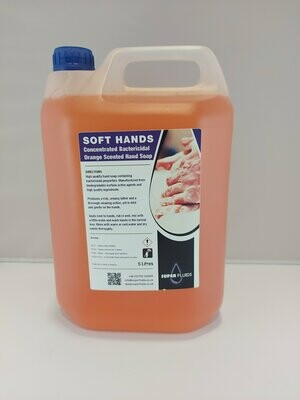 Soft Hands – Bactericidal Liquid Hand Soap
