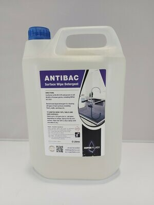 Antibac – General Purpose Surface Cleaner – BS EN 1276 approved