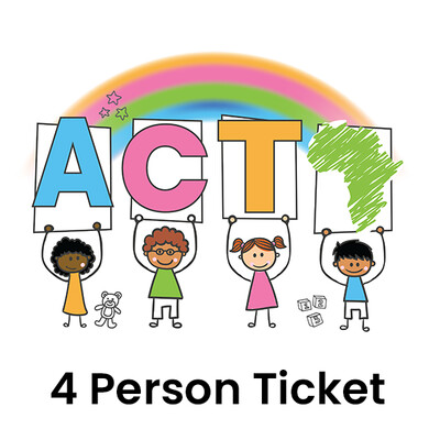 4 x Person Ticket