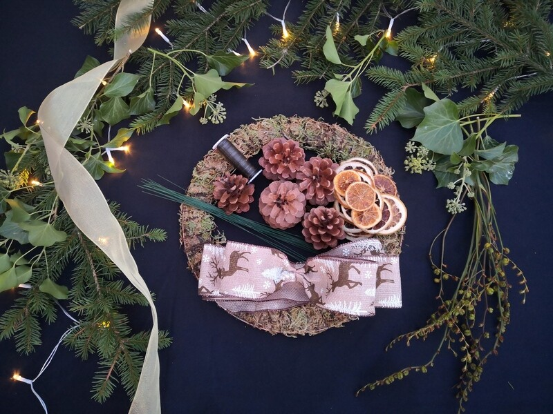 Christmas Wreath Box