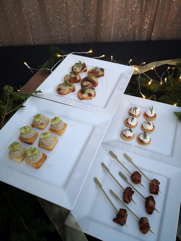 Yuletide Canapes
