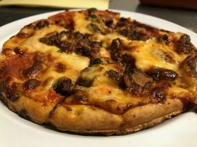 """7"""" Meat Lovers Pizza"""