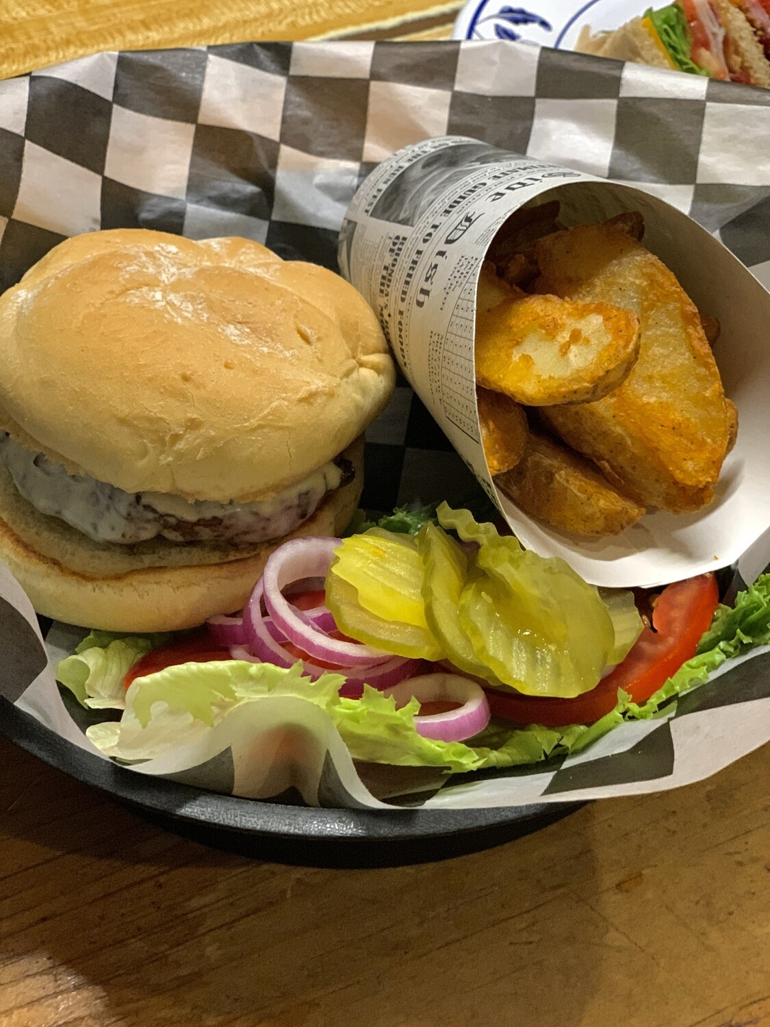 Mile High Old Fashioned Burger