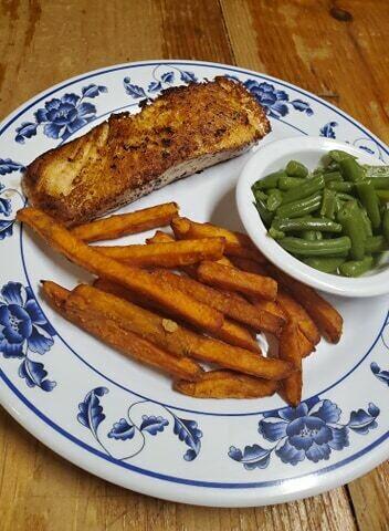 Seared Salmon Dinner