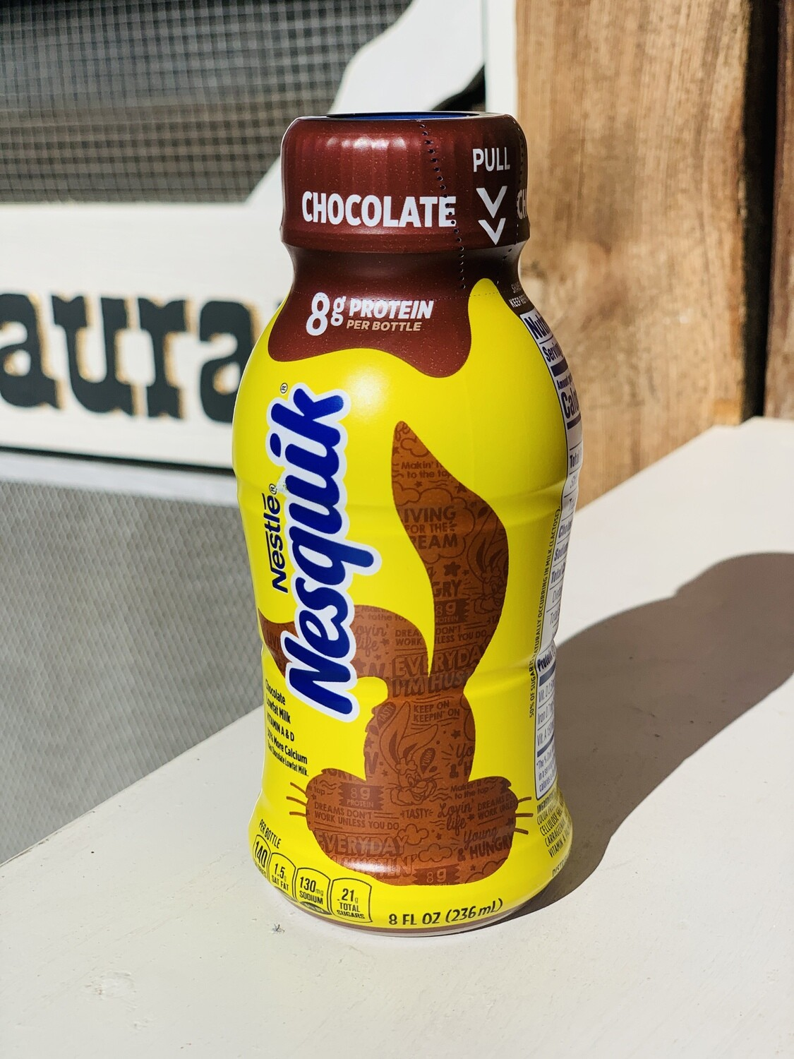 Nesquik Double Chocolate Milk