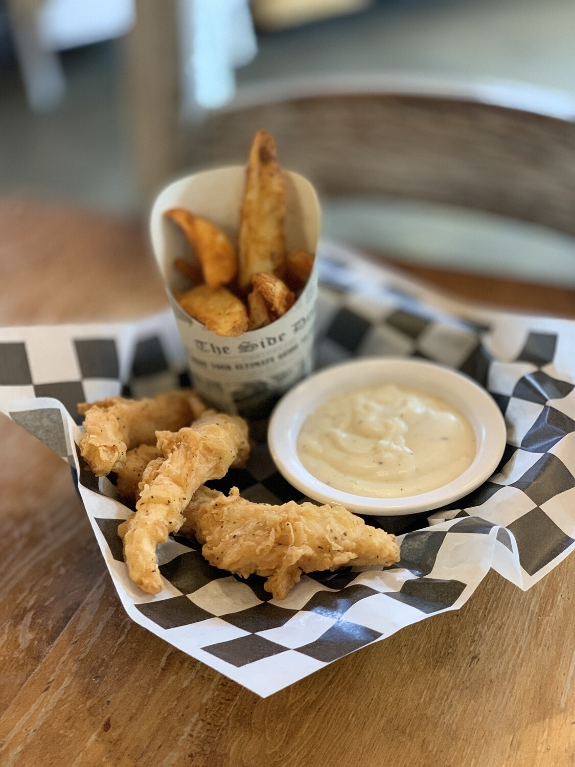 4 Piece Chicken Strip Basket