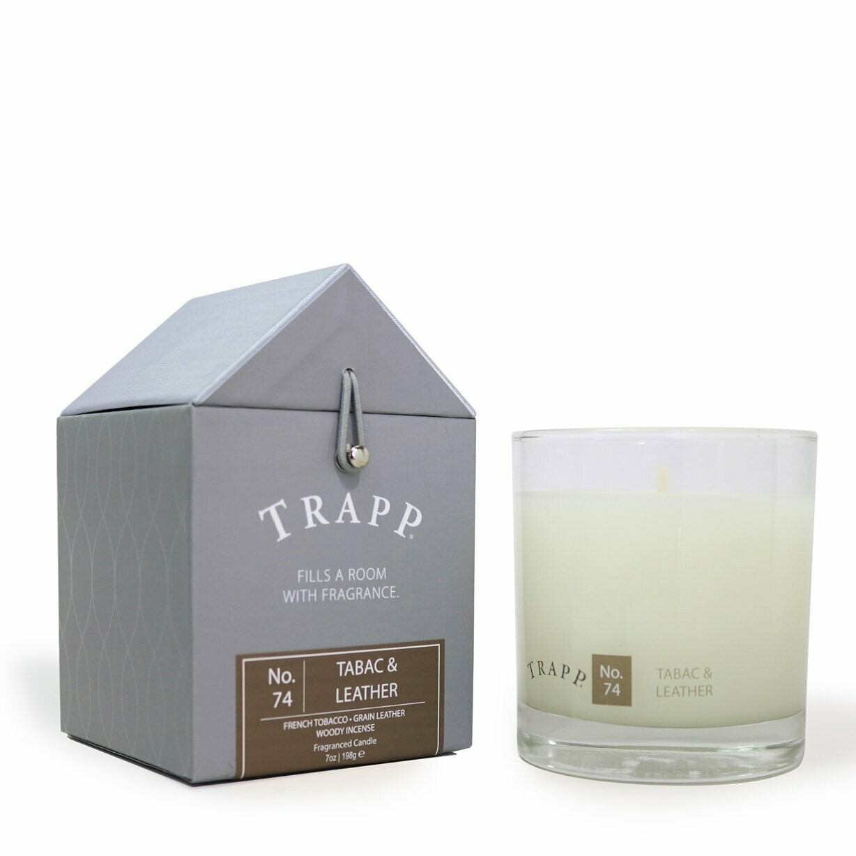 Tabac & Leather Candle