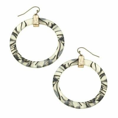 Zebra Colette Hoop