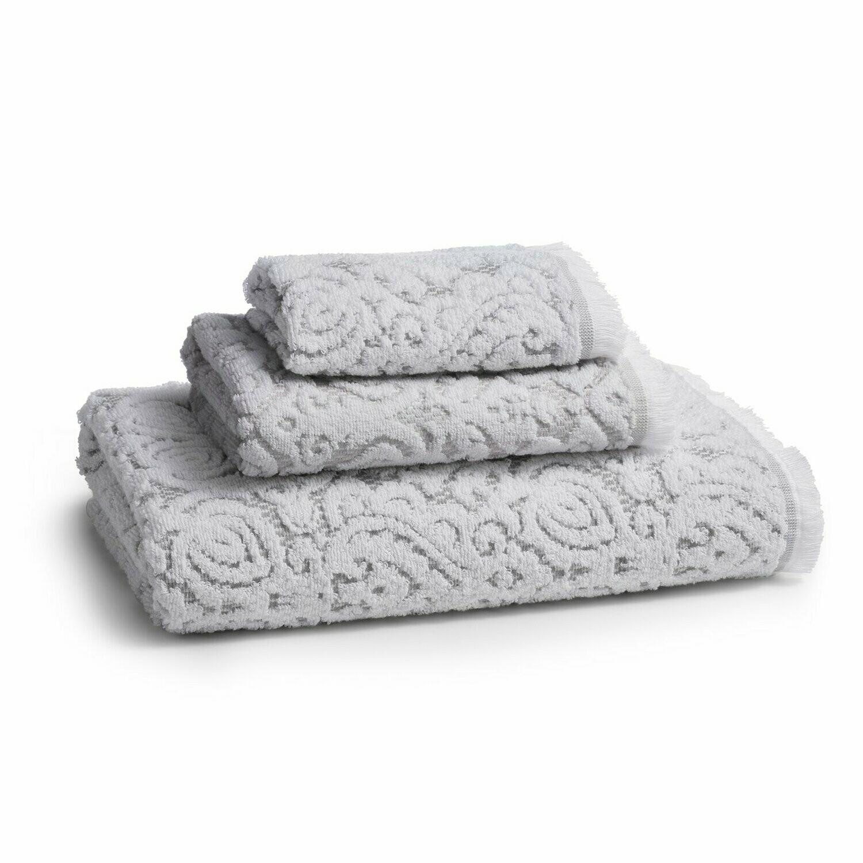 Dalia Grey Bath Towel