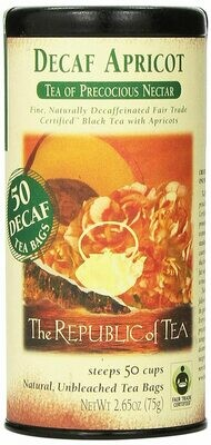 Apricot Decaf Black Tea