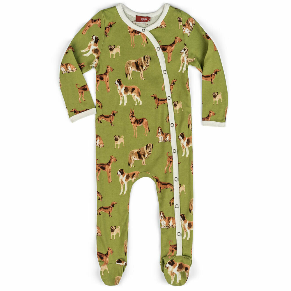 Dog Footed Romper 6-9 Months