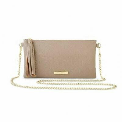 Taupe Freya Crossbody Bag