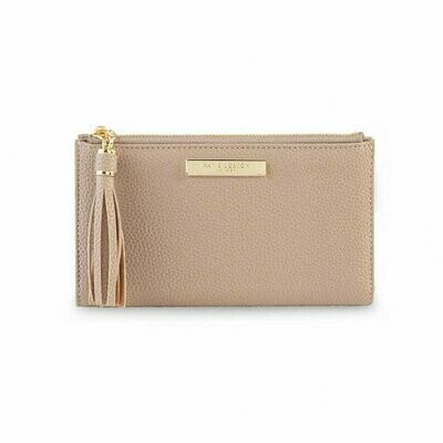 Taupe Fold Out Wallet