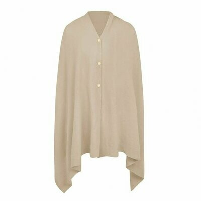 Taupe Eve Poncho