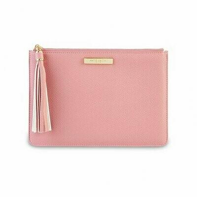 Pink Tassel Pouch