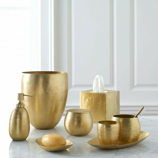 Nile Cotton Jar Gold