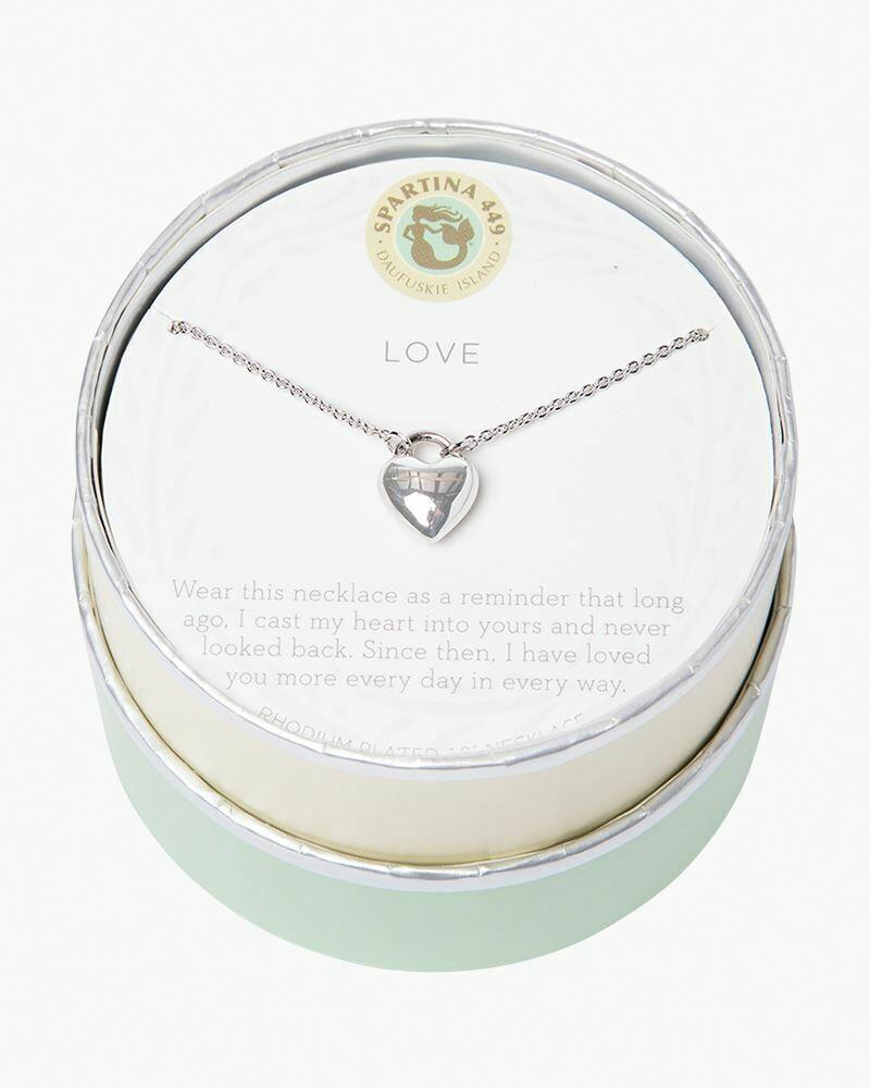SLV Love Heart Necklace