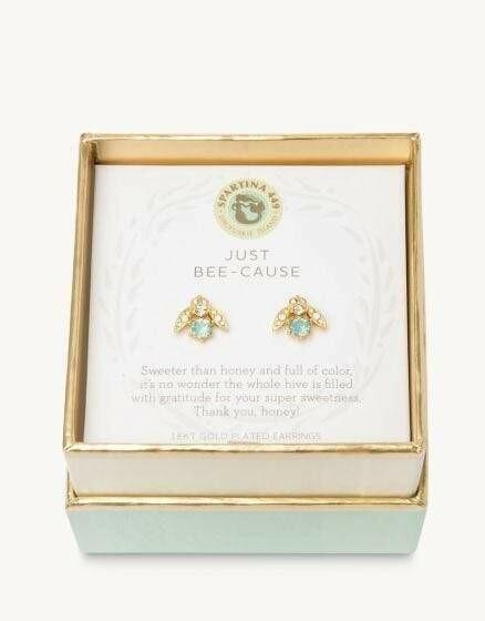 Just Bee-Cause Earrings