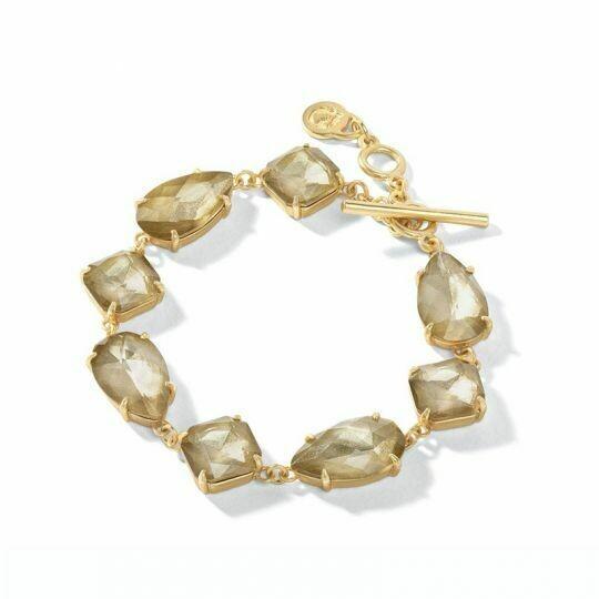 MG Toggle Bracelet Gilded Gold