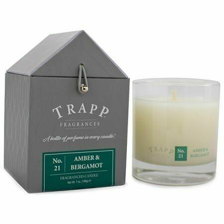 Amber & Bergamot Candle