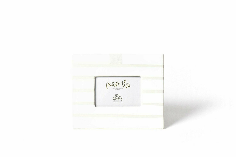 White Stripe Mini Frame