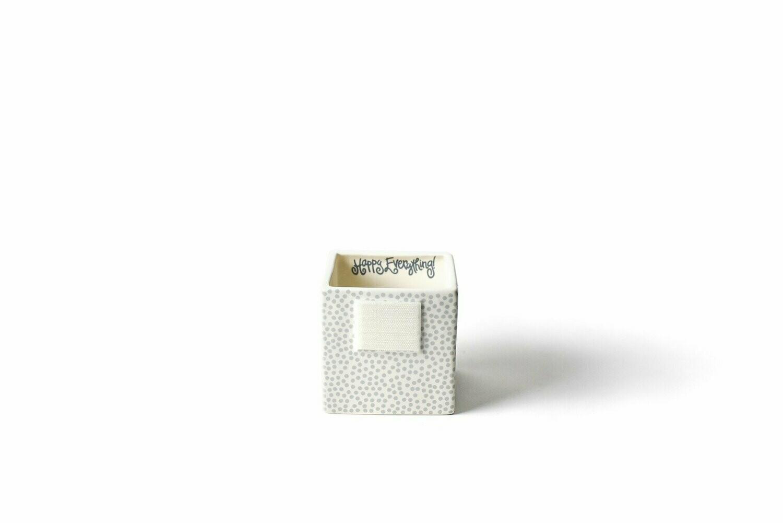 Stone Small Dot Mini Nesting Cube