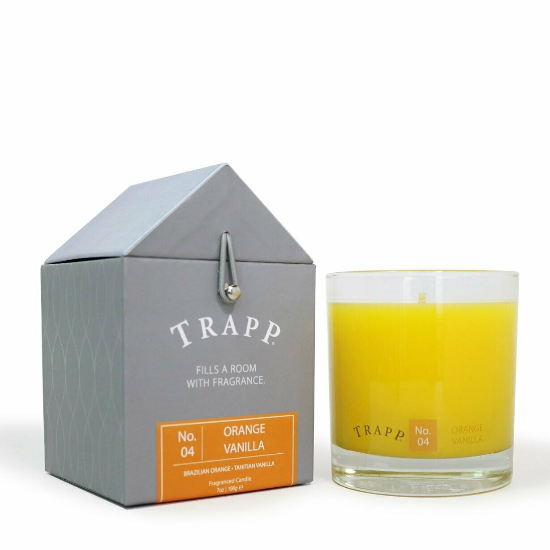 Orange Vanilla Trapp Candle